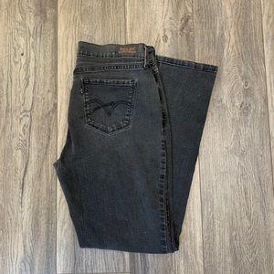 Levi 505 Straight Leg Black Jeans Black Tab Sz 12